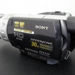 ビデオカメラのデータ救出に成功 HDR-SR1 SONY