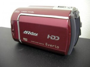 電源を入れると異音がするビデオカメラのデータ復元に成功 ビクター GZ-MG330-R