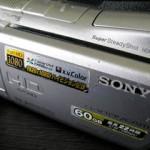 ソニービデオメラのデータ復元 HDR-SR11