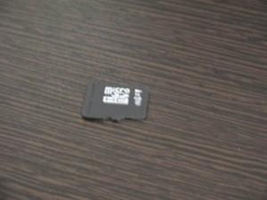 microSDカード ギャラリー データ復元
