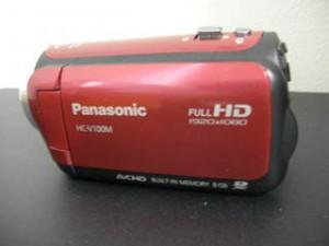 パナソニック ビデオカメラのデータ復旧に成功 HC-V100M