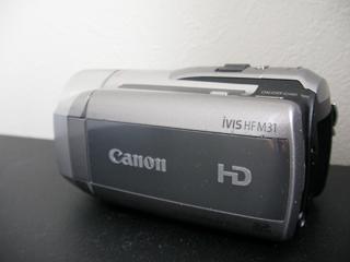ビデオカメラのデータ復活 iVIS HF M31