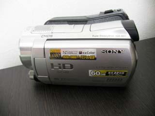 SONY ハンディカムのデータ復元 HDR-SR11 福岡県