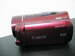 キャノンビデオカメラ HF M51 iVIS のデータ復旧