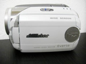 GZ-MG47-W ビクターエブリオ ビデオカメラのデータ復旧