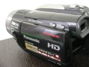 パナソニック ビデオカメラのデータ復旧 HDC-HS100
