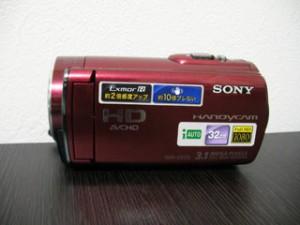 ソニーハンディカム復元 HDR-CX170