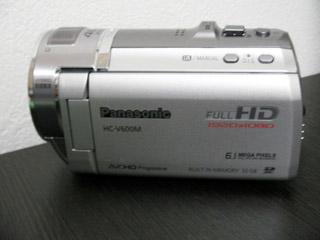 ビデオカメラのデータ復活 Panasonic HC-V600M