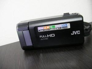 JVCケンウッド GZ-V590 ビデオカメラをフォーマットした