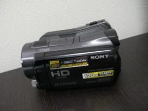 ビデオカメラのデータ復元 HDR-SR12 フォーマットエラー