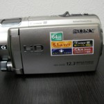 ビデオカメラのデータ復旧 HDR-CX560V SONY