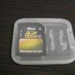 デジカメのデータ復元 SDカード8GB HAGIWARA SYS-COM
