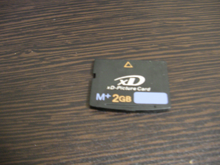 xDピクチャーカード