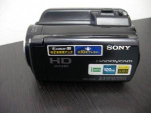 ビデオカメラのデータ復旧 ソニービデオカメラHDR-XR150