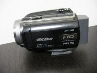 ビクター GZ-HD30 ビデオカメラのDVD作成