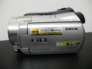 ソニーハンディカム HDR-CX560 データ復旧