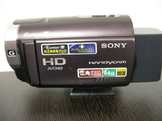 ハンディカム復旧 HDR-CX370V 全データ消去