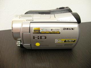 HDDビデカメラ復元 SONY HDR-SR11