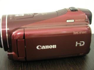 ビデオカメラ データ復旧 Canon iVIS HF M41