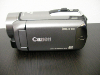 キヤノン iVIS HF R10