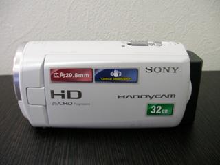 SONY HDR-CX270VデジタルHDビデオカメラレコーダー復旧