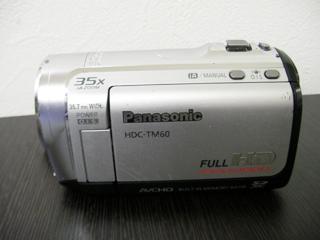 Panasonic HDC-TM60 ビデオカメラのデータが見られなくなった