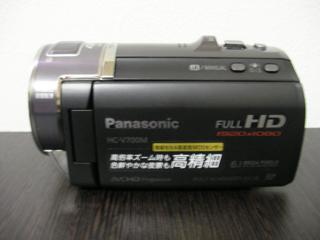 パナソニックのビデオカメラHC-V700Mで子供の動画を消した