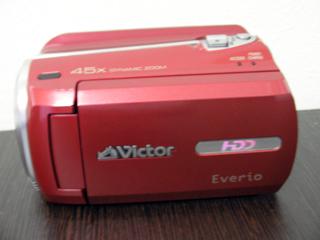 Victor Everio GZ-MG760 管理ファイルを更新しています