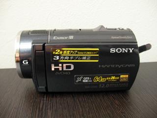 SONYハンディカム復元 HDR-CX520