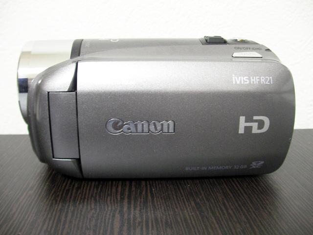Canon iVIS ビデオカメラのデータ復旧