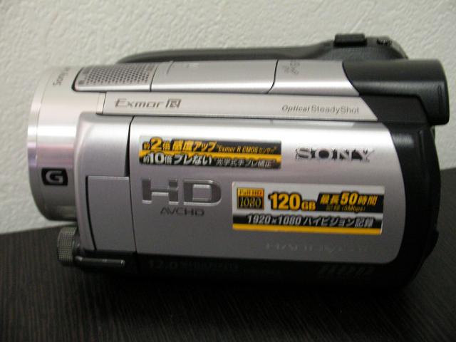 HDR-XR500V SONY ハンディカム復旧 埼玉県のお客様