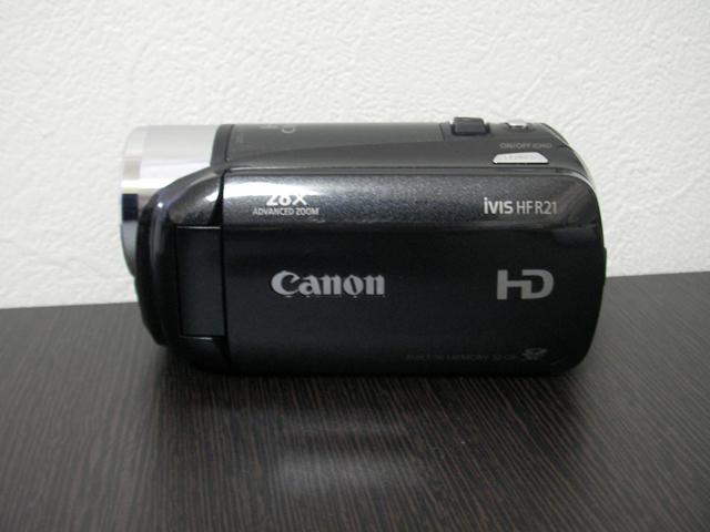 HF R21 Canon iVIS  データ復旧
