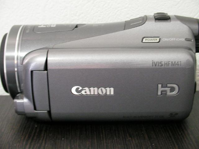 HF M41 キャノン iVIS ビデオカメラ 動画データ復旧