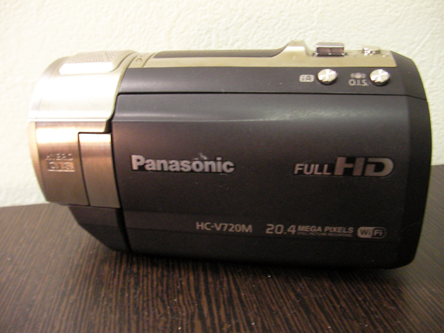 パナソニック ビデオカメラ復元に成功 HC-V720M 子どもが消した