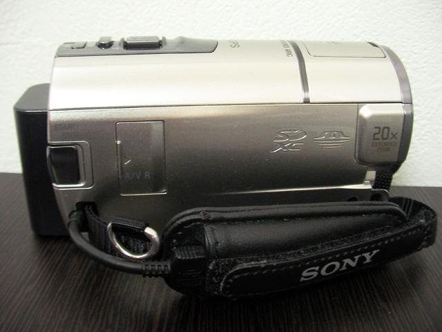 ハンディカム復旧 ソニー HDR-CX590V