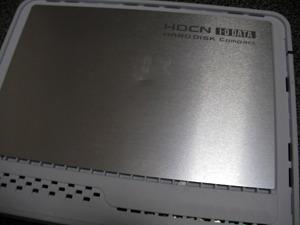 外付けHDD HDC-U250 データ消えた