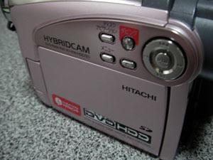 HITACHI Wooo DZ-HS401(P) 動画を誤って消去
