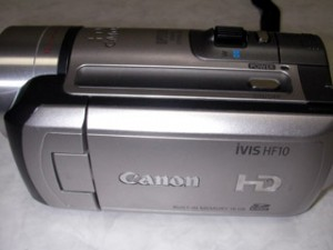 Canon iVIS HF10
