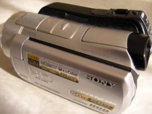 ホームビデオ データ復旧 SONY HDR-SR11 フォーマットエラー
