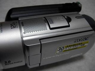 SONY ハンディカム DCR-SR100 初期化した