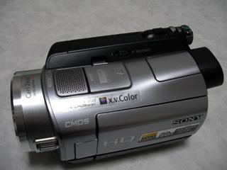 SONY HDR-SR7 ハンディカム データ復旧