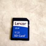 Lexar SDカード 1GB LUMIX DMC-FX30 フォーマット