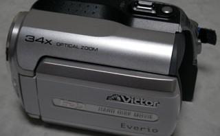 ビクター Everio GZ-MG140 動画を1つ消してしまった