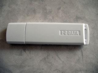 USBメモリ アイオーデータ 4GB フォーマット