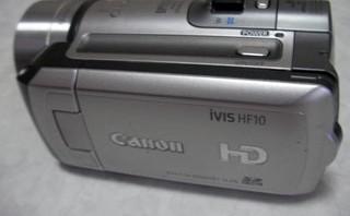 キャノン IVIS HF10 データがなくなった