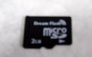 microSDカード 2GB 動画と写真が消えた