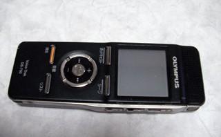 オリンパス ICレコーダー ボイストレック DS-750 データ消去