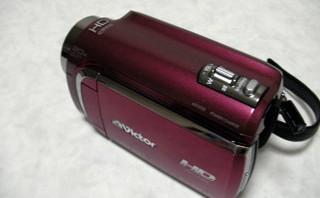 ビクター エブリオ GZ-HD300-R フォーマットした